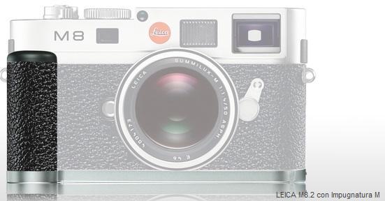Leica M impugnatura per corpo M8-M8.2- M9