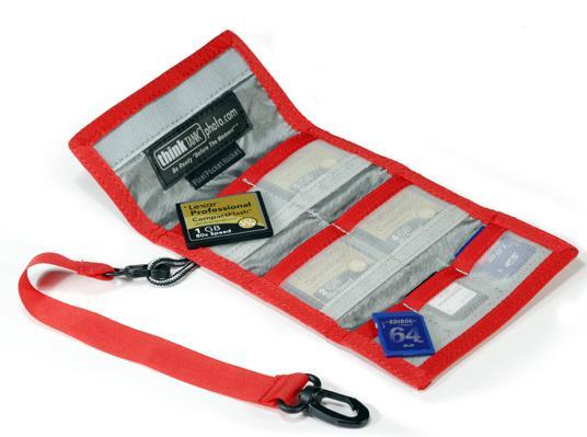 Pee Wee Pocket Rocket contenitore per 4 CF card + 3 SD card